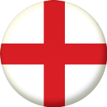 England Country Flag 25mm Pin Button Badge